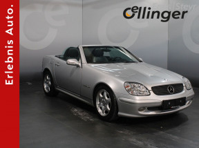 Mercedes-Benz SLK Cabrio bei öllinger in